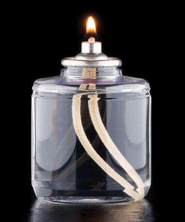 42 Hour Disposable Clear Plastic Liquid Candle - 36/CS