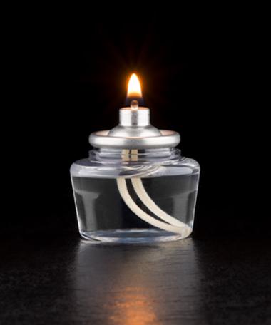10 Hour Disposable Clear Plastic Liquid Candle - 144/CS
