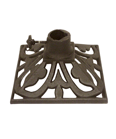 Torch Stand - Deep Charcoal, 9X9 Square