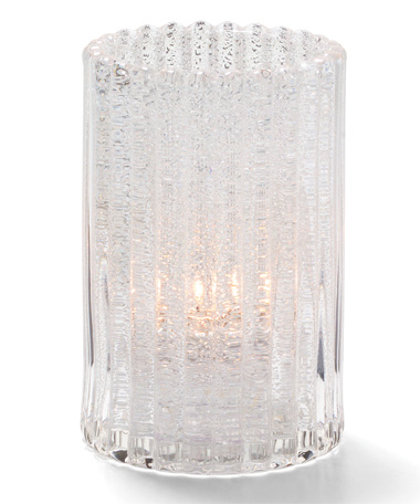 ClearJewel Vertical RodGlass Cylinder Lamp