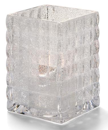 Clear Jewel Optic Block™ Glass Lamp