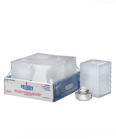 Satin Crystal Optic Block™ Glass Lamp Shelf Pack W/HD12 - 4/Pack