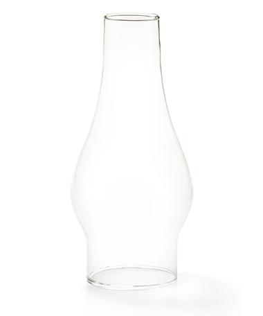 Clear Chimney Glass Globe