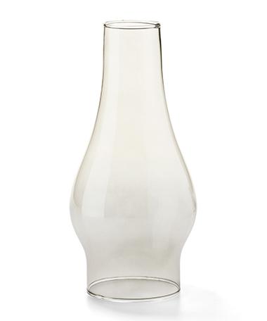 Smoke Lustre Chimney Glass Globe