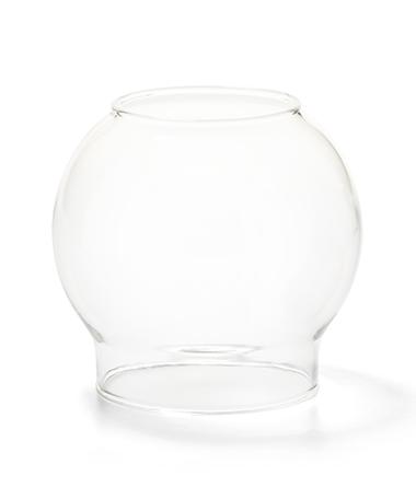 Clear Bubble Glass Globe