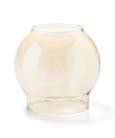 Gold Bubble Glass Globe