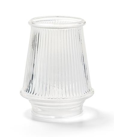 Clear Danbury Glass Globe