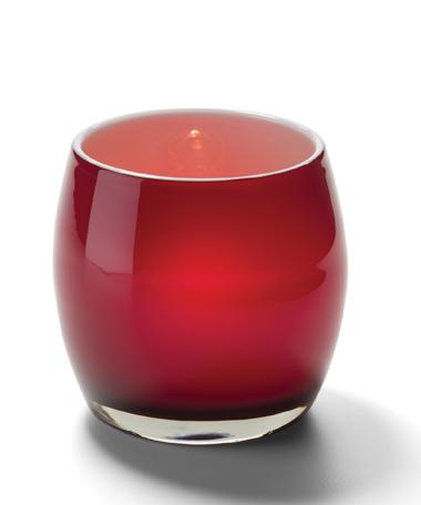 Candle Apple™ Glass Votive