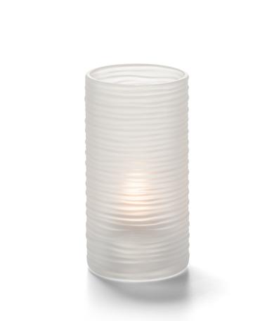 Typhoon™ Mid-Size Cylinder Satin Crystal