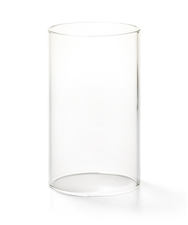 Clear Cylinder Glass Globe