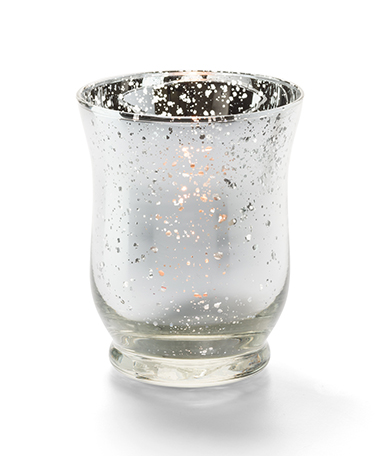 Classic Mercury Glass Votive