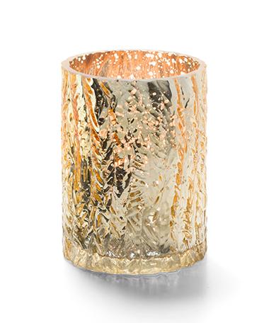 Rustic Mercury Glass Votive
