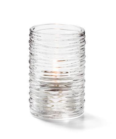Clear Typhoon™ Tealight Cylinder