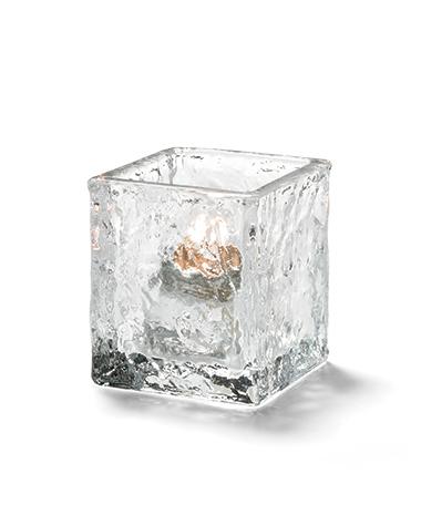 Glacier™ Tealight (Clear Glass)