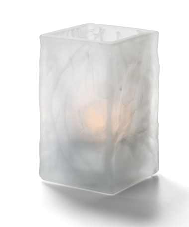 Glacier™ Votive (Satin Crystal Wysp™ )