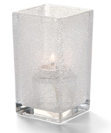 Clear Jewel Quad™ Glass Votive Lamp