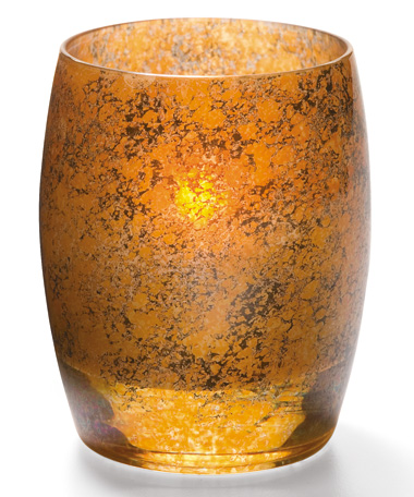 Antique Gold Contour™ Votive Lamp