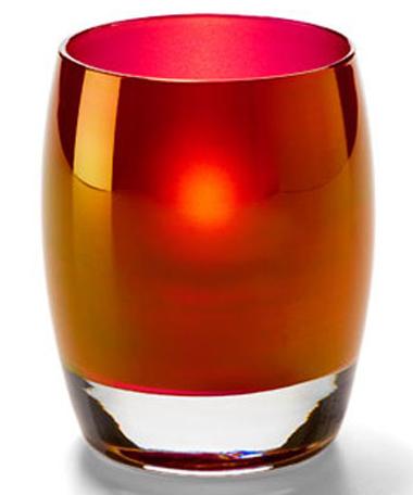 Ruby Gold Contour™ Votive Lamp