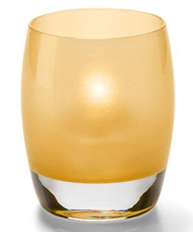Satin Gold Contour™ Votive Lamp