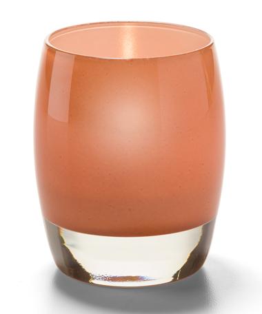 Contour™ Aura Votive Glass Lamps (Apricot)