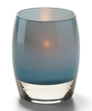 Contour™ Aura Votive Glass Lamps (Jade)