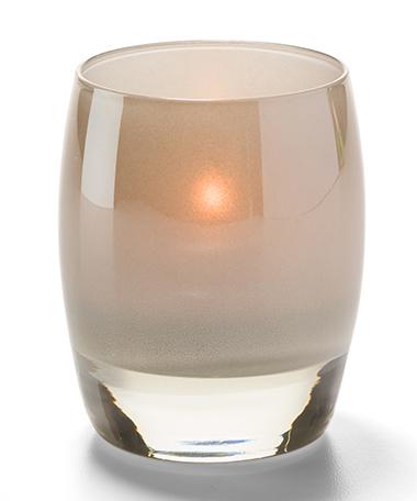 Contour™ Aura Votive Glass Lamps (Stone)