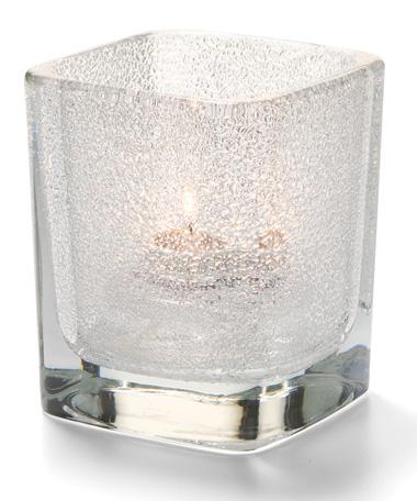 Clear Jewel Tetra™ Glass Votive Lamp
