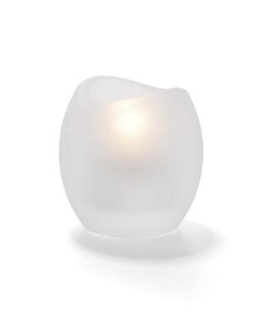 Satin Crystal Pixel™ Tealight