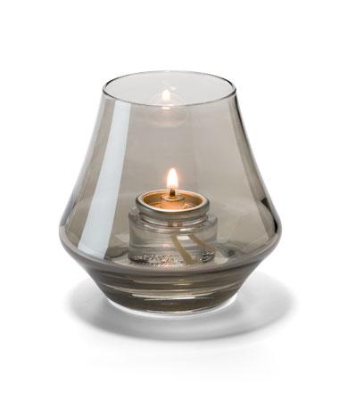 Smoke Lustre Chime™ Glass Votive Lamp