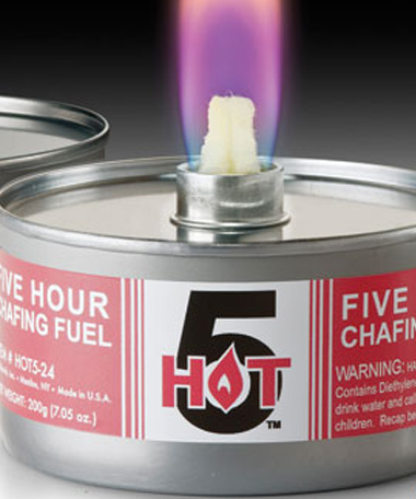 Hot 5™-5 Hour Wicked Chafing Fuel, 7.05 oz CAN (24/CS)