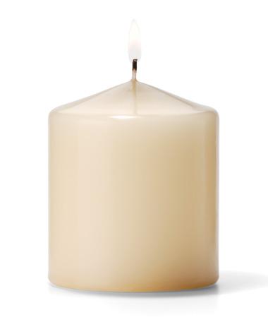 Pillar Candles (Ivory) 3