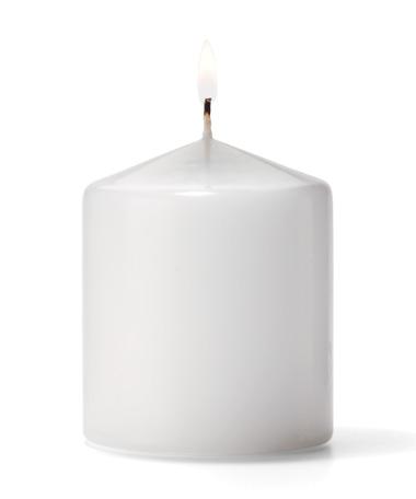 Pillar Candles (White) 3