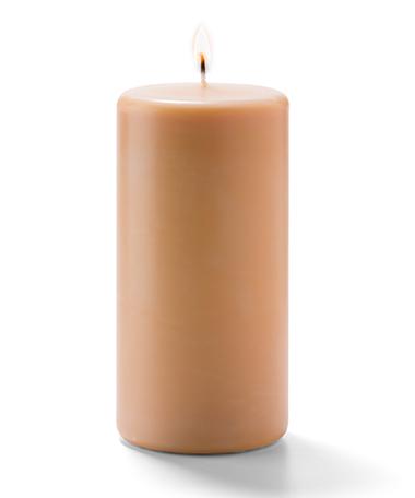 Pillar Candles (Cappuccino) 3